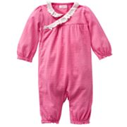 Chaps Striped Coverall - Baby