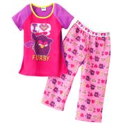 I Love Furby Pajama Set - Girls