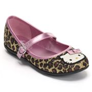 Hello Kitty Lily Leopard Ballet Flats - Girls