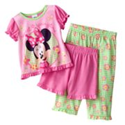 Disney Mickey Mouse and Friends Minnie Mouse Springtime Pajama Set - Baby