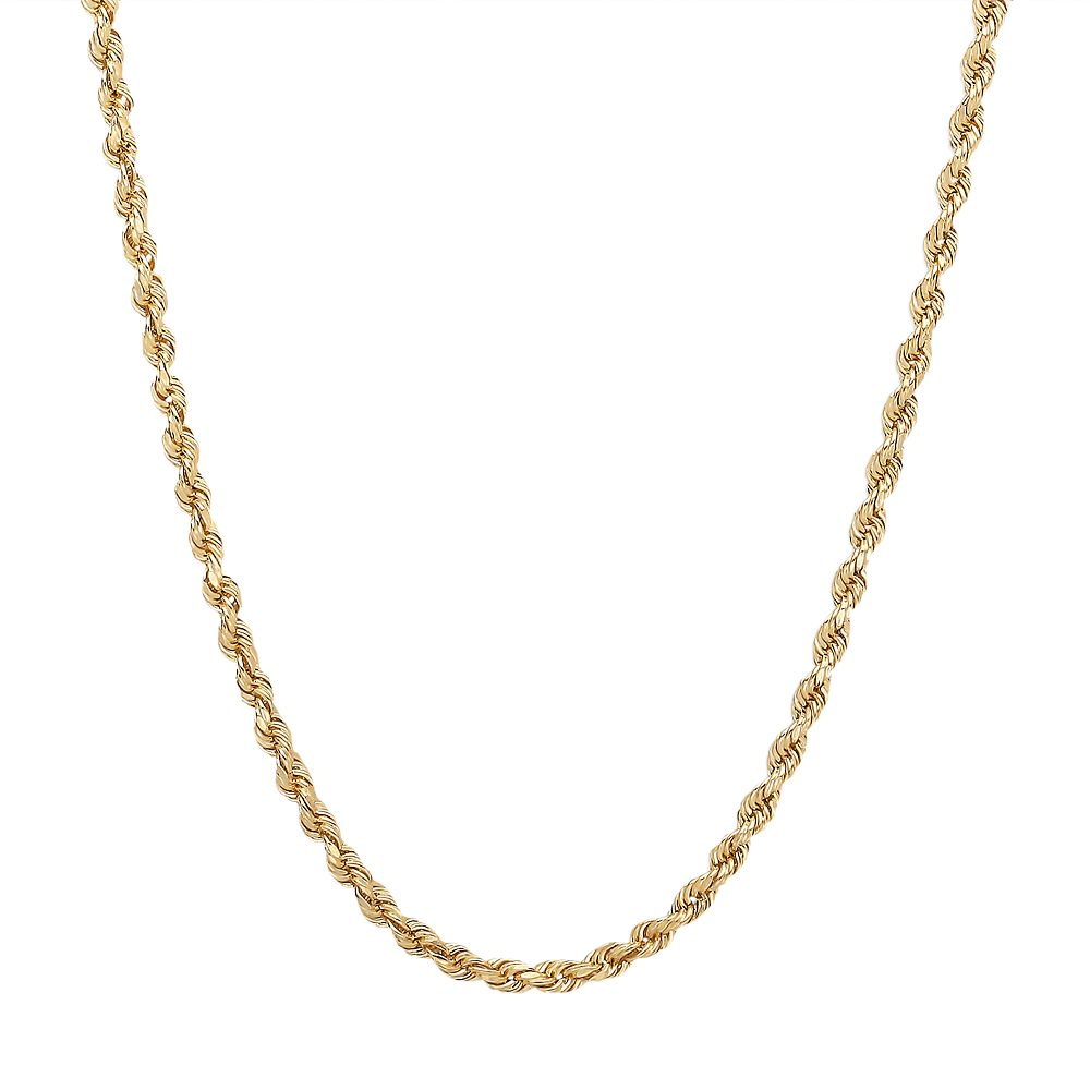 Everlasting Gold 14k Gold Rope Chain Necklace - 20-in.