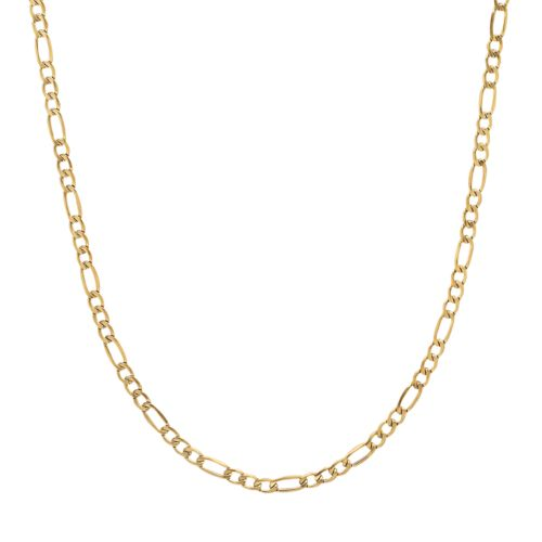 Everlasting Gold 14k Gold Figaro Chain Necklace - 22-in.