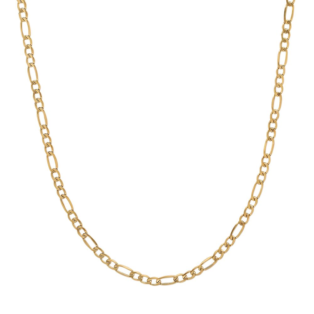 Everlasting Gold 14k Gold Figaro Chain Necklace - 24-in.