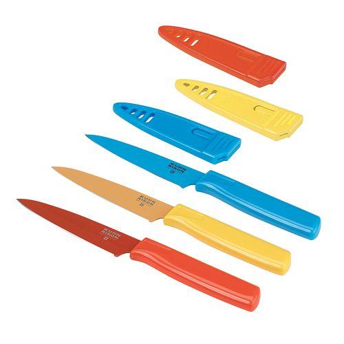 Kuhn Rikon 3-pc. Paring Knife Set