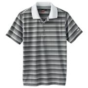 Grand Slam Striped Performance Polo - Boys 8-20