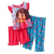 Dora the Explorer Butterfly Pajama Set - Baby