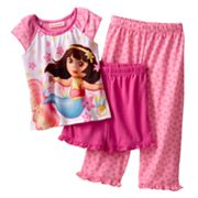 Dora the Explorer Mermaid Pajama Set - Toddler