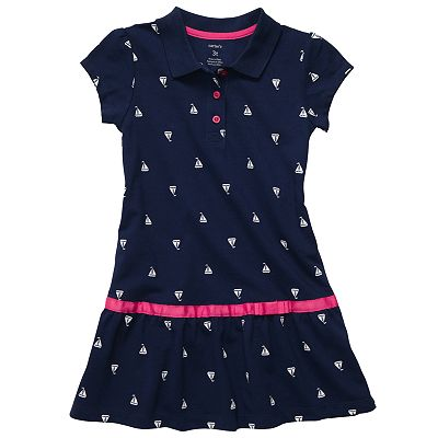 Carter's Sailboat Polo Dress - Toddler
