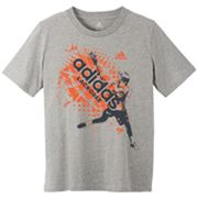 adidas Stick Check Tee - Boys 8-20