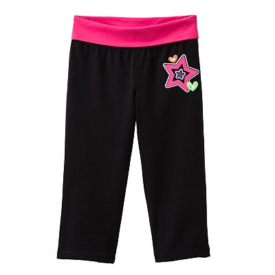 Jumping Beans Graphic Yoga Capris - Baby