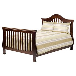 Million Dollar Baby Classic Ashbury 4-in-1 Convertible Crib