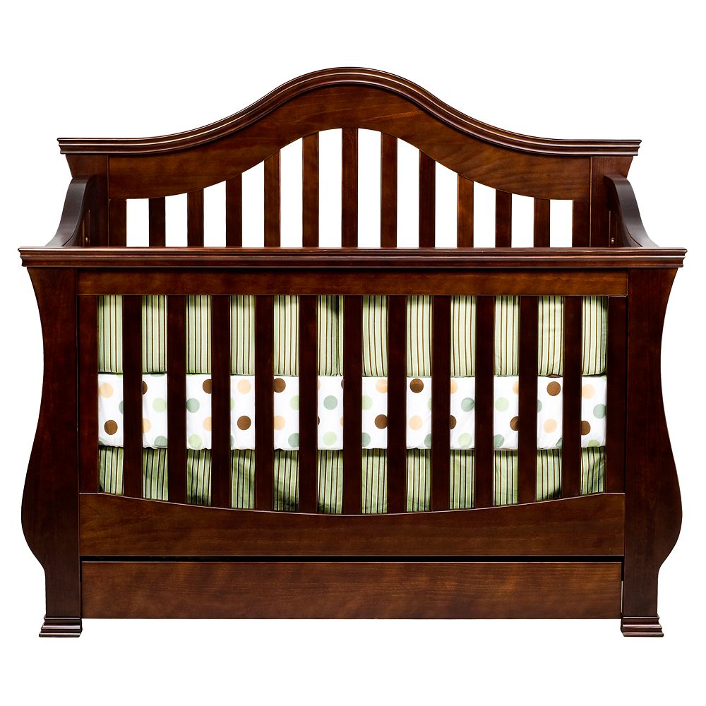 All In One Crib Million Dollar Baby Classic Ashbury 4 In 1 Convertible Crib