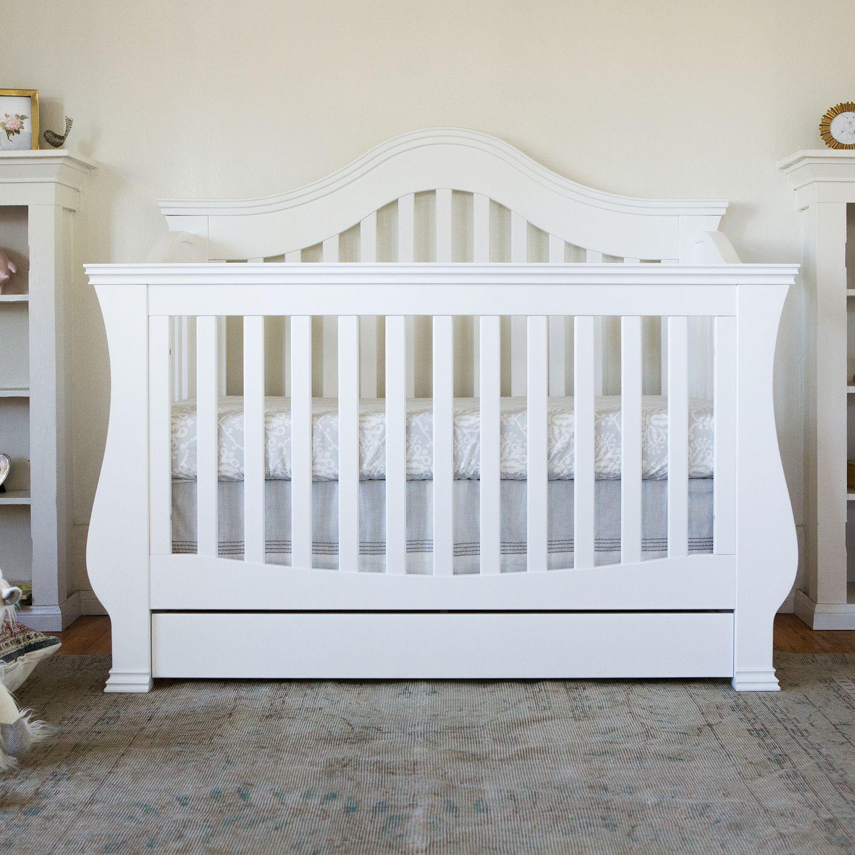 Charming Million Dollar Baby Classic Ashbury 4 In 1 Convertible Crib