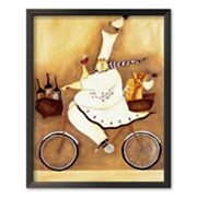 Art.com Chef To Go Framed Art Print by Jennifer Garant