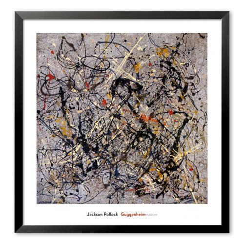 Art.com Number 18 Framed Art Print by Jackson Pollock