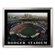 Art.com Dodger Stadium Framed Art Print by Mike Smith