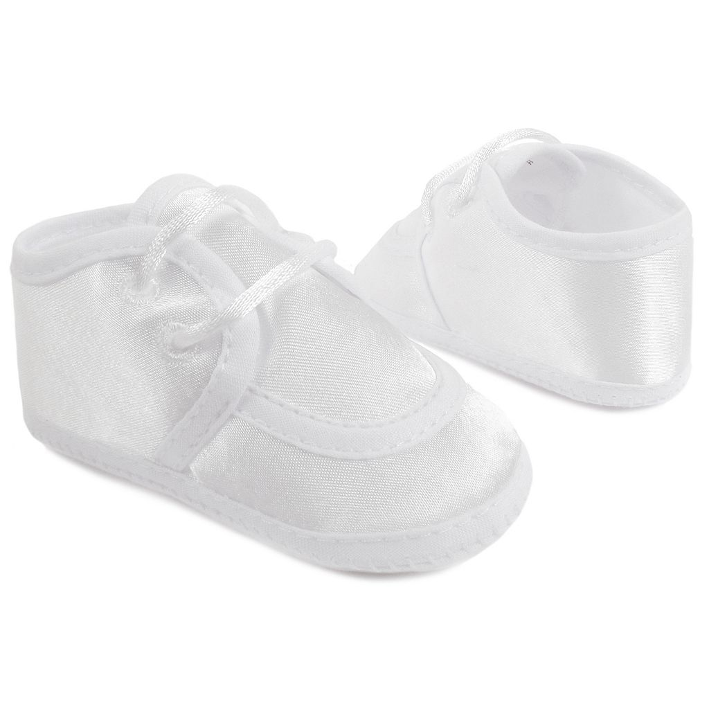 Wee Kids Satin Oxford Christening Shoes - Baby