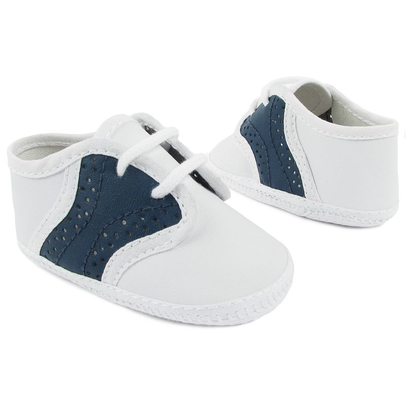 Wee Kids Broadcloth Oxford Shoes - Baby