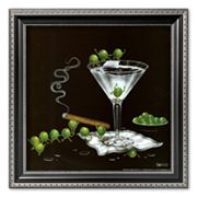 Art.com Martini Limbo Framed Art Print by Michael Godard