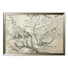 Art.com 'Almond Branches in Bloom' Framed Art Print by Vincent van Gogh
