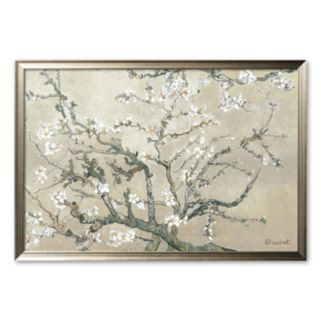 Art.com Almond Branches in Bloom Framed Art Print by Vincent van Gogh