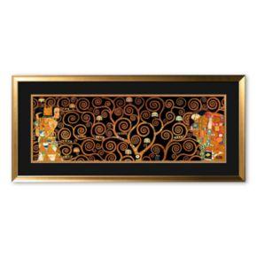 Art.com The Tree of Life Framed Art Print by Gustav Klimt
