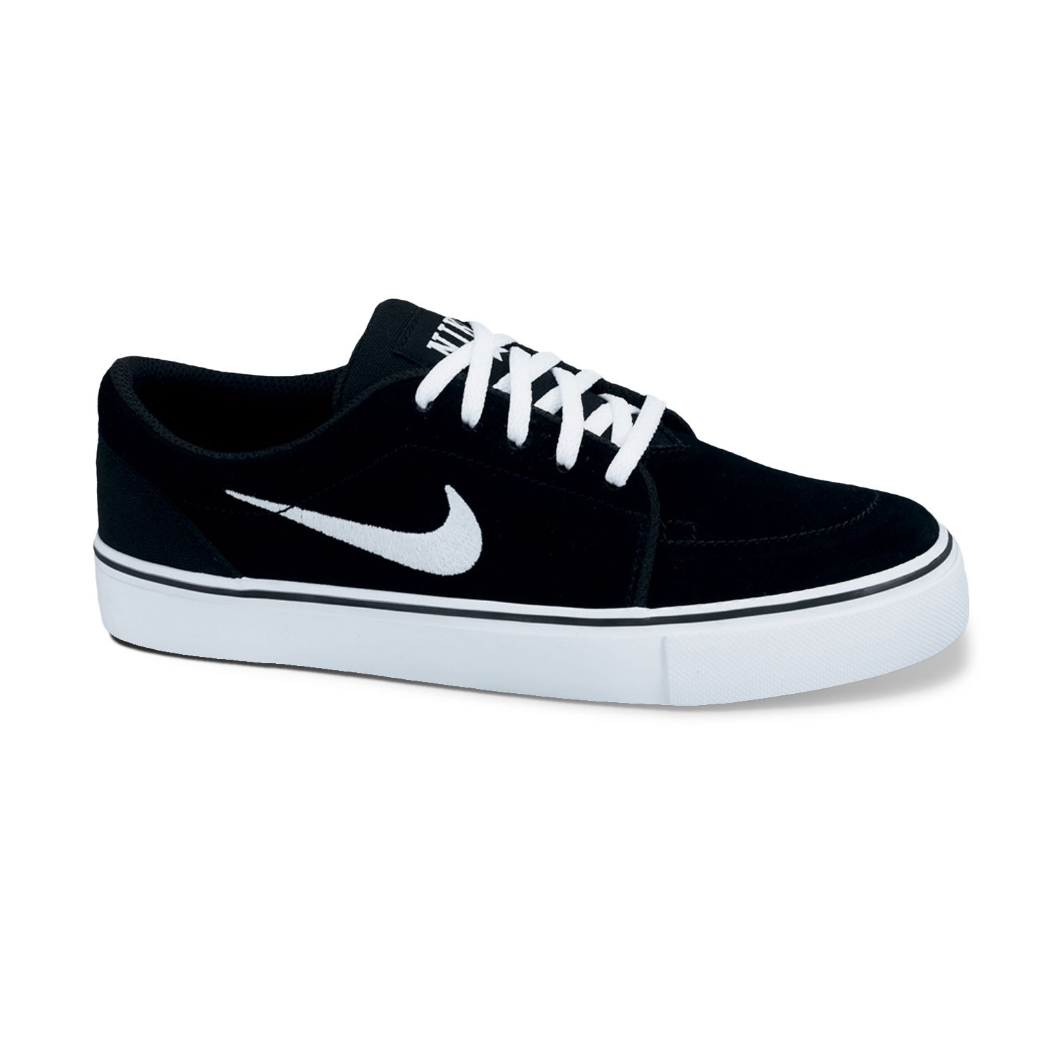 Nike Black Satire Skate Shoes - Grade School Boys