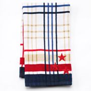 Americana Printed Plaid Kitchen Towel