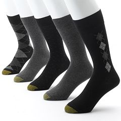 Men's GOLDTOE 5 pkArgyle Dress Socks