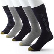 Men's GOLDTOE 5 pkArgyle Dress Socks