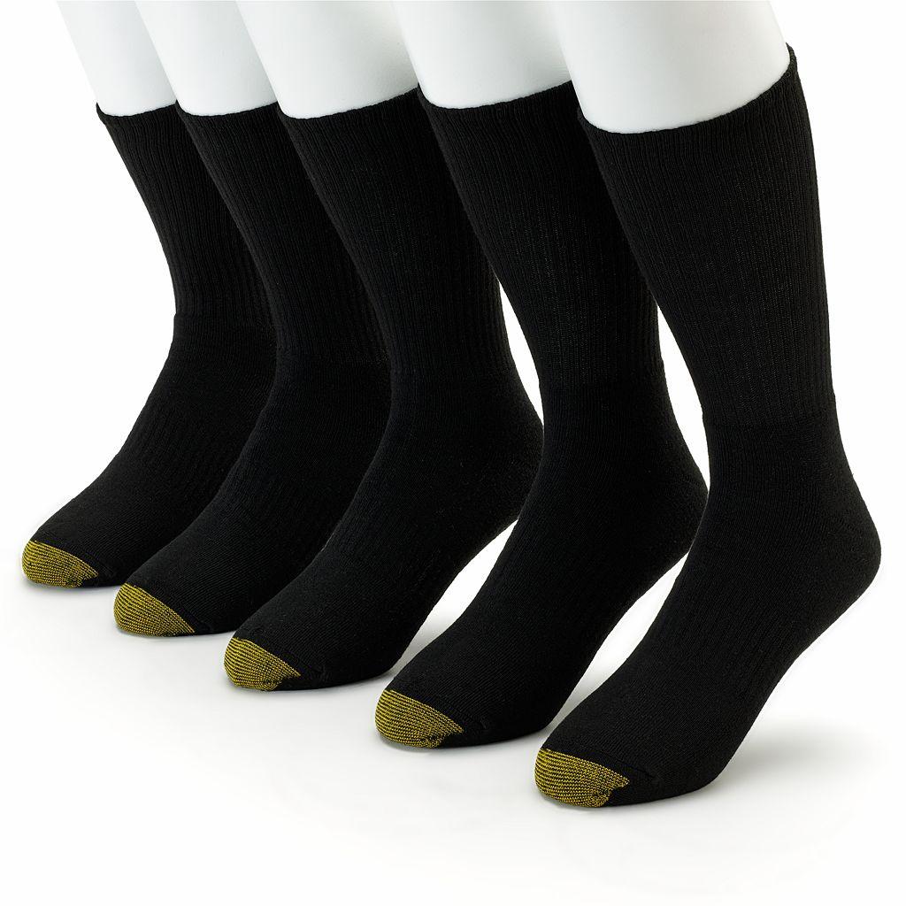 Men's GOLDTOE 5-pk. Casual Crew Socks