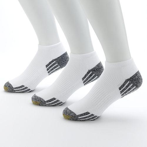 Men's GOLDTOE® 3-pk. G Tec Outlast No-Show Athletic Socks