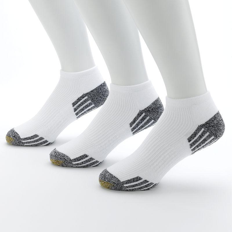 Men's GOLDTOE 3-pk. G Tec Outlast No-Show Athletic Socks