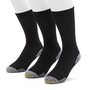 Men's GOLDTOE 3-pk. Outlast Temperature Control Crew Socks
