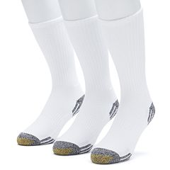 Men's GOLDTOE 3 pkOutlast Temperature Control Crew Socks