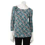 Dana Buchman Circle Embellished Top