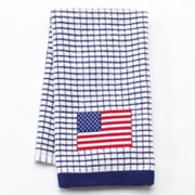 Americana Windowpane Flag Kitchen Towel