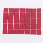 Americana Windowpane Placemat