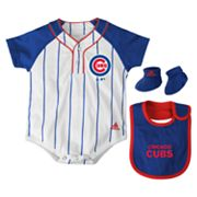 adidas Chicago Cubs Creeper Set - Baby