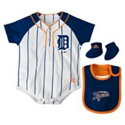 adidas Detroit Tigers Creeper Set - Baby