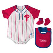 adidas Philadelphia Phillies Creeper Set - Baby