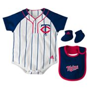 adidas Minnesota Twins Creeper Set - Baby