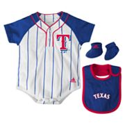 adidas Texas Rangers Creeper Set - Baby