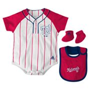adidas Washington Nationals Creeper Set - Baby