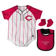 adidas Cincinnati Reds Creeper Set - Baby