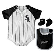 adidas Chicago White Sox Creeper Set - Baby