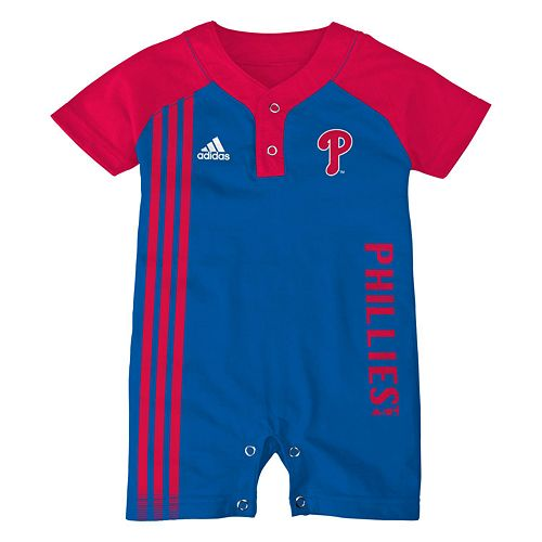 premium selection ab4fb 70b65 adidas Philadelphia Phillies Romper - Baby