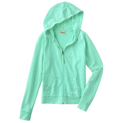 Mudd Burnout Hoodie - Girls Plus