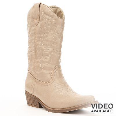 sugar Balour Western Boots - Women