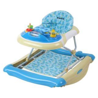 Dream On Me 2-in-1 Crossover Musical Walker and Rocker